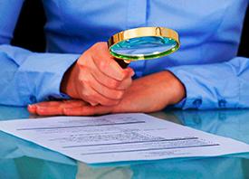 Elementos de seguridad y autenticidad en documentos y grafoscopía