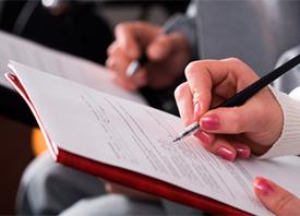 Taller de informe de hallazgos y dictamen forense